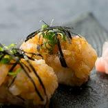 新メニュー握り寿司
