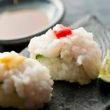 鱧の落とし寿司
