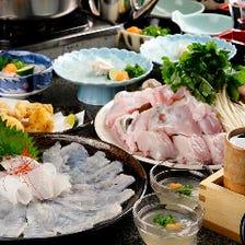 ◆年中美味い♪活ふぐで宴会!