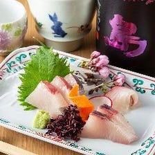 九州の味覚を楽しめる逸品料理も充実