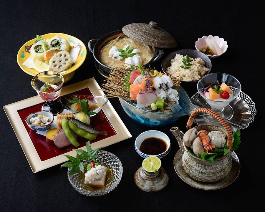 ◆おまかせ会席(鱧料理)5,500円