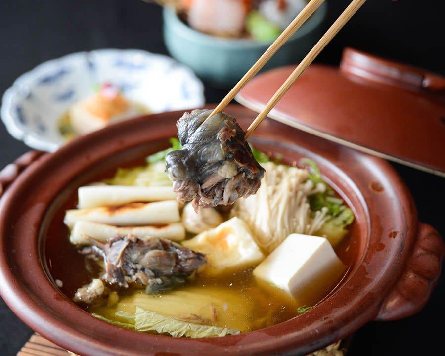 ◆すっぽん鍋