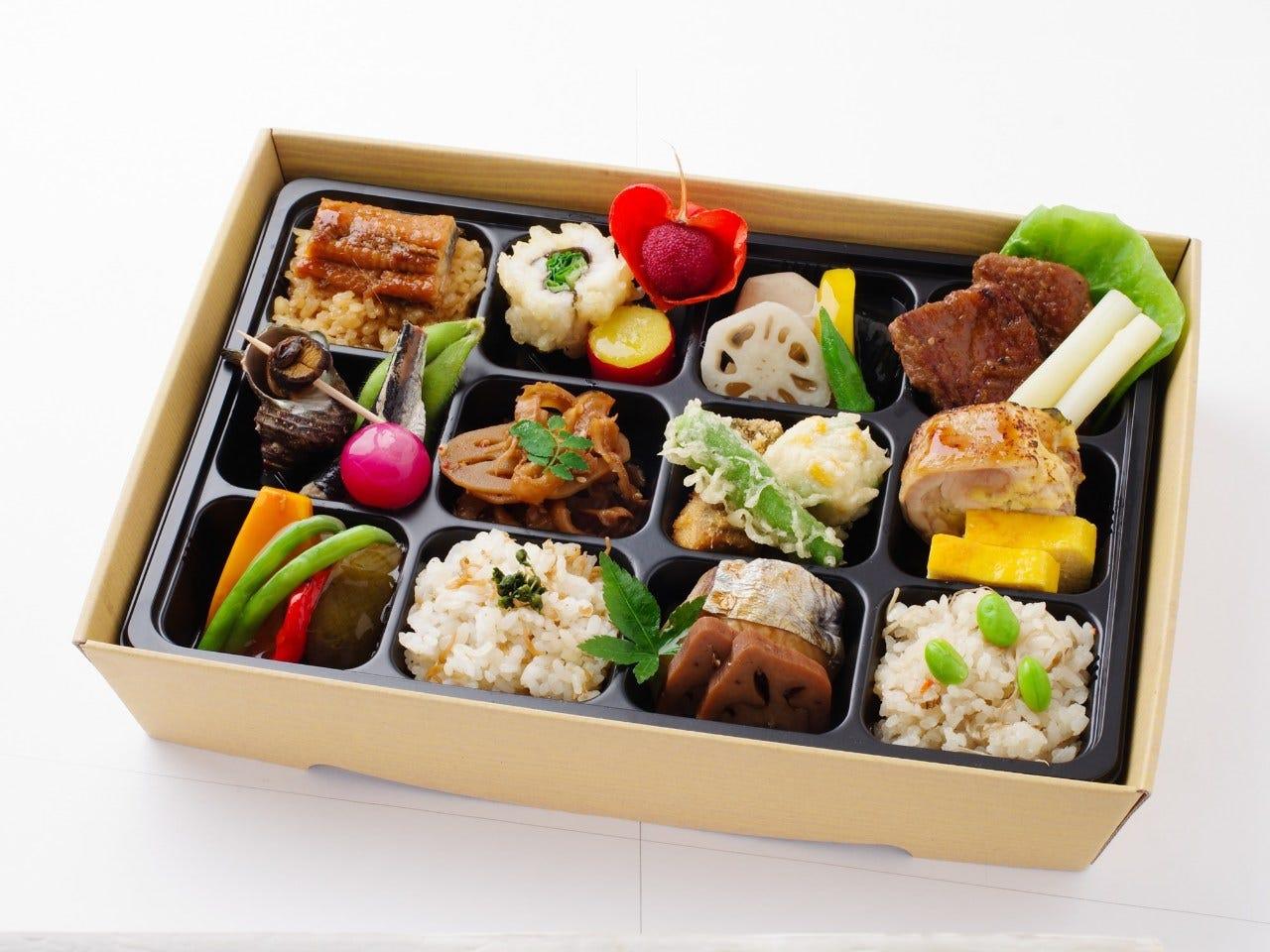 ◆十二単弁当 1,800円 一番人気