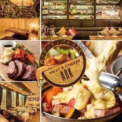 スフレオムレツ&ラクレットチーズ Meat&Cheese Ark2nd 新宿店