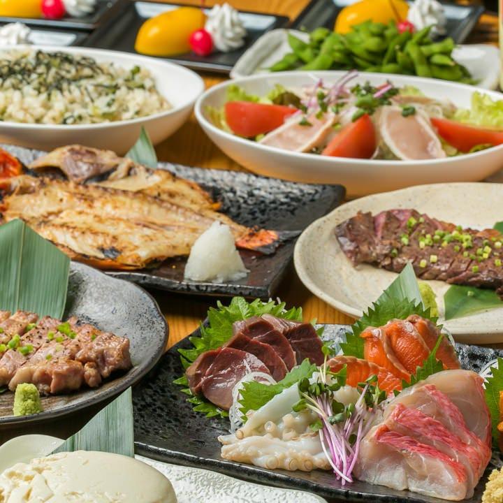 2時間飲み放題付きご宴会コース3,500円~!熟成肉のコースは4,500円~