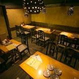 テーブル席(~4名様×4・~2名様×1)