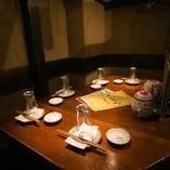 テーブル席(4~5名様)