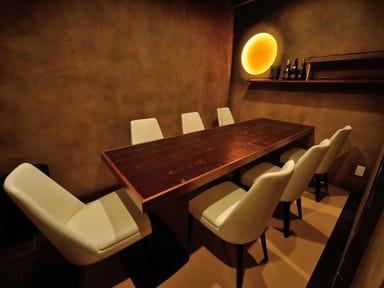 個室で楽しむ宮城の日本酒 きょういち 店内の画像
