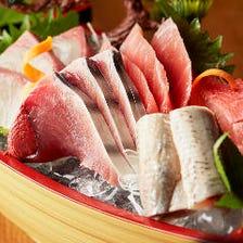 魚市場から直送!新鮮魚介料理