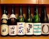 旨い【地酒と焼酎】にもこだわっています。ただの酒好きかも。
