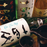 日本酒にこだわってます!全国の地酒を楽しめます。