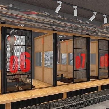 焼肉×スンドゥブ×韓国料理 チェゴ CHEGO いわき駅前店 店内の画像