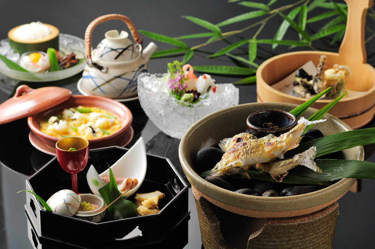 納涼川床料理 13,200円(税込)