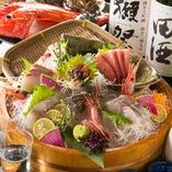 毎日築地直送の新鮮な鮮魚【東京都】