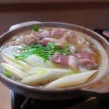 鴨鍋、かき鍋、あんこう鍋 各種鍋