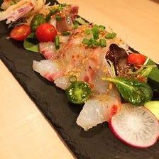 豊洲直送の新鮮魚料理
