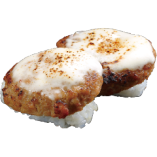 炙りチーズハンバーグ