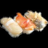 貝三種盛り