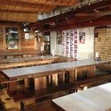テーブル席(2~14名様×5席)