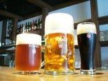 工場から毎日直送! 出来立てビールを提供してます