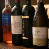 お料理に合うワインを多数取り揃えております