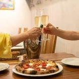 日常使いも記念日にも◎ワインとイタリアンで乾杯♪