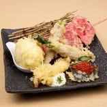 天ぷら五種盛り合わせ