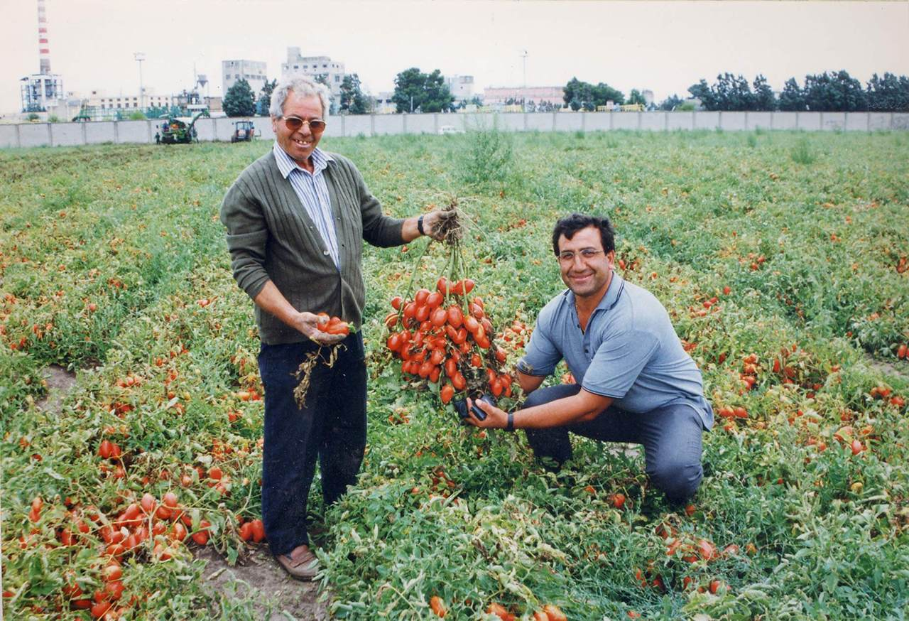 イタリア産トマトを・・・♪