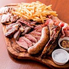 カルネミスト 肉料理全部のせ盛り合わせ