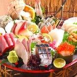 鮮度抜群!八戸漁港から毎日仕入れの鮮魚お刺身もご用意!!