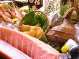 築地・現地から新鮮な食材を直送!! ※写真はイメージです。