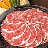 ラム肉ジンギスカン<120分食べ放題>