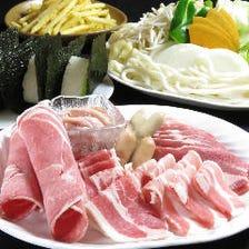 【パーティプラン】焼肉プラン<100分食べ飲み放題>4,400円