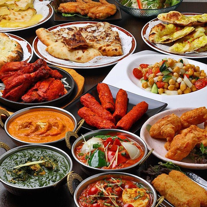 本場の味!絶品インド料理を満喫