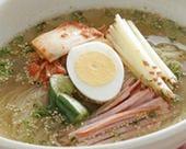 人気の特製冷麺