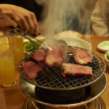 焼肉はやっぱり炭火焼に限ります