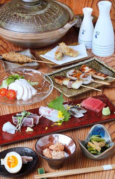 魚菜燻吟 あき山  コースの画像