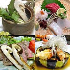 おまかせ極(きわみ)コース~季節を彩る旬材極のコース。名物の鯛御飯付!ご宴会承ります。