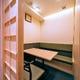 完全個室。全室空調設備の他、換気扇完備。アルコール除菌も徹底