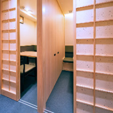 個室(各個室に空調完備)