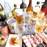 大満足の飲み放題付きコースは3300円~◎宴会・飲み会に最適!