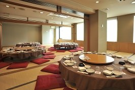 6名~60名様ご利用可能な5階お座敷ご宴会場。