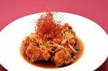 鶏の唐揚げ 南蛮(ナンバン)ソース