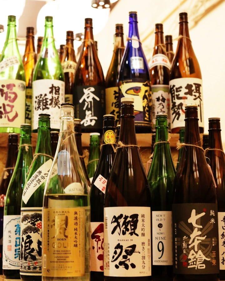 北海道〜沖縄!日本酒47種類!!