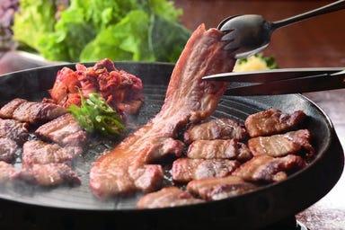サムギョプサルと野菜 いふう 銀座マロニエゲート1店 コースの画像