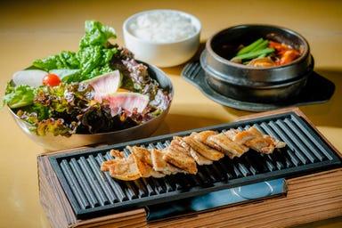 サムギョプサルと野菜 いふう 銀座マロニエゲート1店 メニューの画像