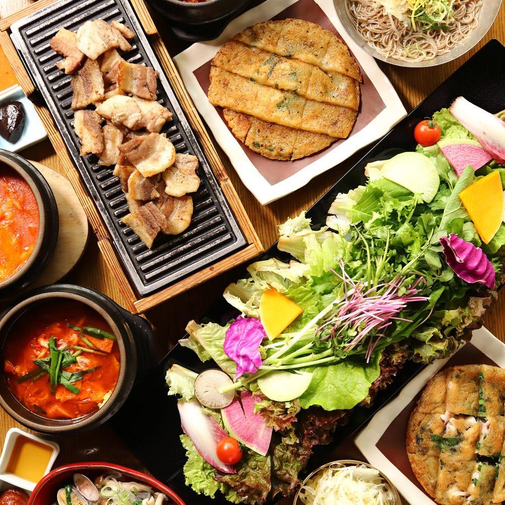 サムギョプサルと野菜 いふう 銀座マロニエゲート1店