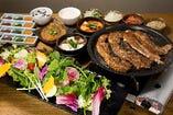 いろいろな韓国料理をお得に!食べ放題プレミアムプラン☆