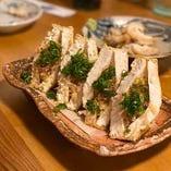 島豆腐の厚揚 ひやごん豆腐店さん手作りの味がデージマーサン!