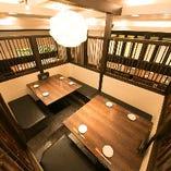 【4~8名様】個室風テーブル席